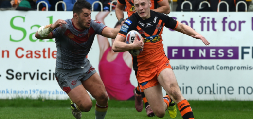 Dragons Catalans vs Castleford Tigers