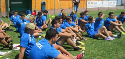 Equipe de France U16 Test Angleterre Groupe 21