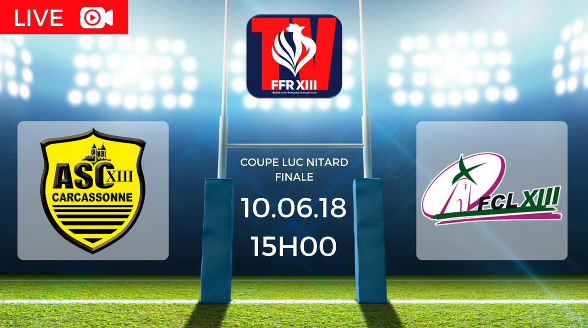 Finale Coupe Luc Nitard As Carcassonne Vs Fc L 233 Zignan En