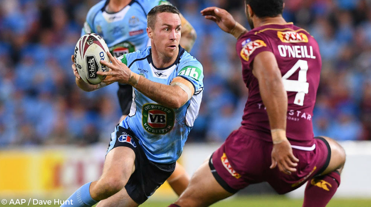 James Maloney State Of Origin Blues