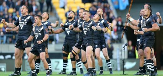 Nouvelle-Zélande vs Angleterre le groupe néo-zélandais