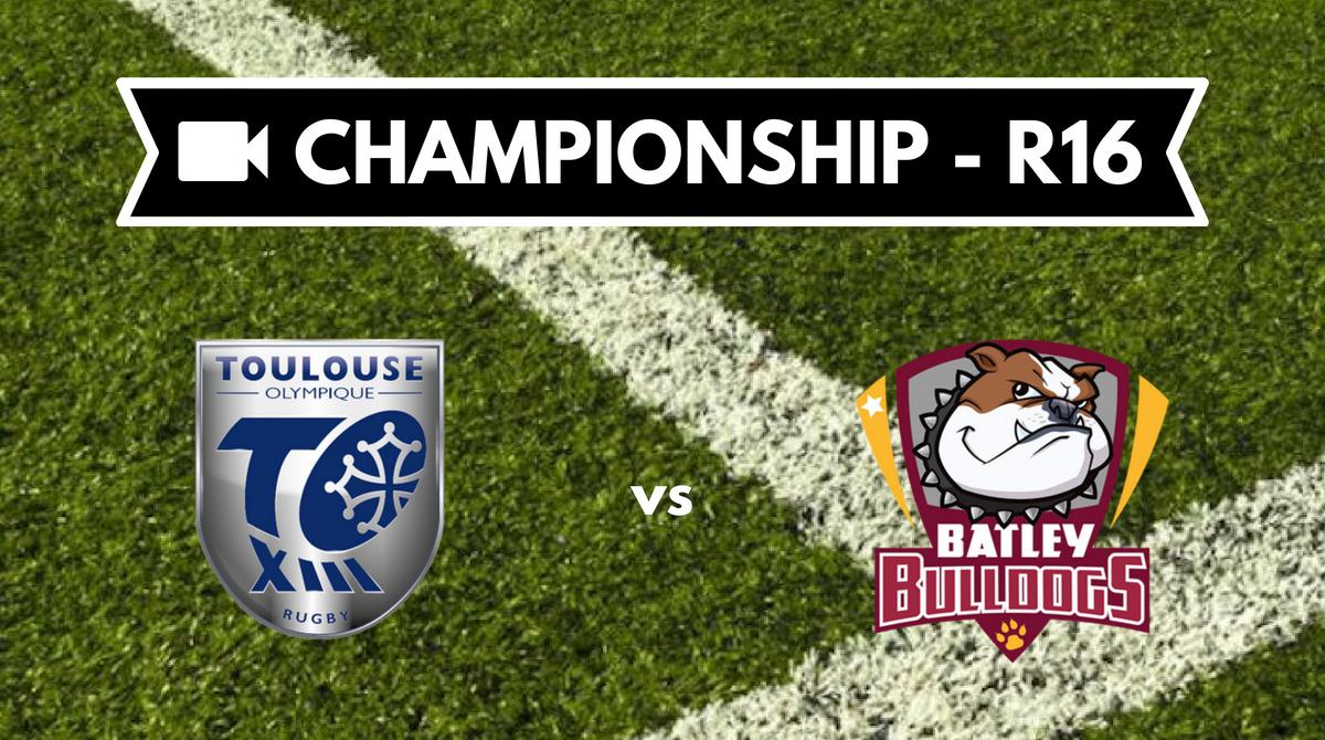 Résumé vidéo Toulouse Olympique vs Batley Bulldogs