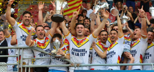 Saint-Estève XIII Catalan remporte la Coupe de France