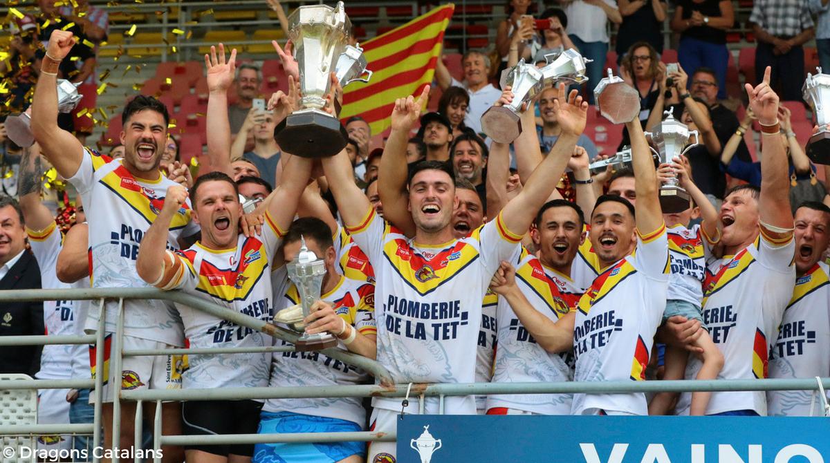 Saint-Estève XIII Catalan remporte la Coupe de France