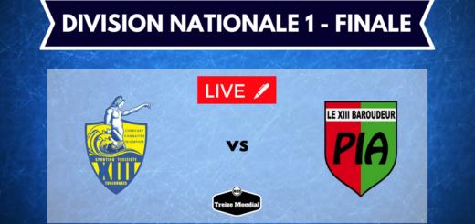 Sporting Toulon vs XIII Barroudeur de Pia - direct commenté