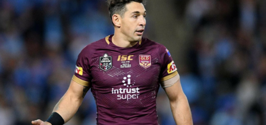 Billy Slater State Of Origin 2018 Queensland Maroons