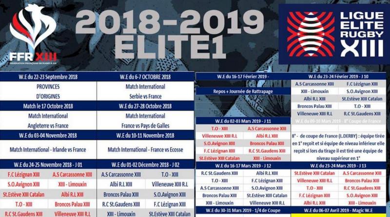 Calendrier Du Mondial.Elite 1 Le Calendrier Elite 1 De La Saison 2018 2019 A Ete