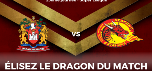 Dragon du match Wigan