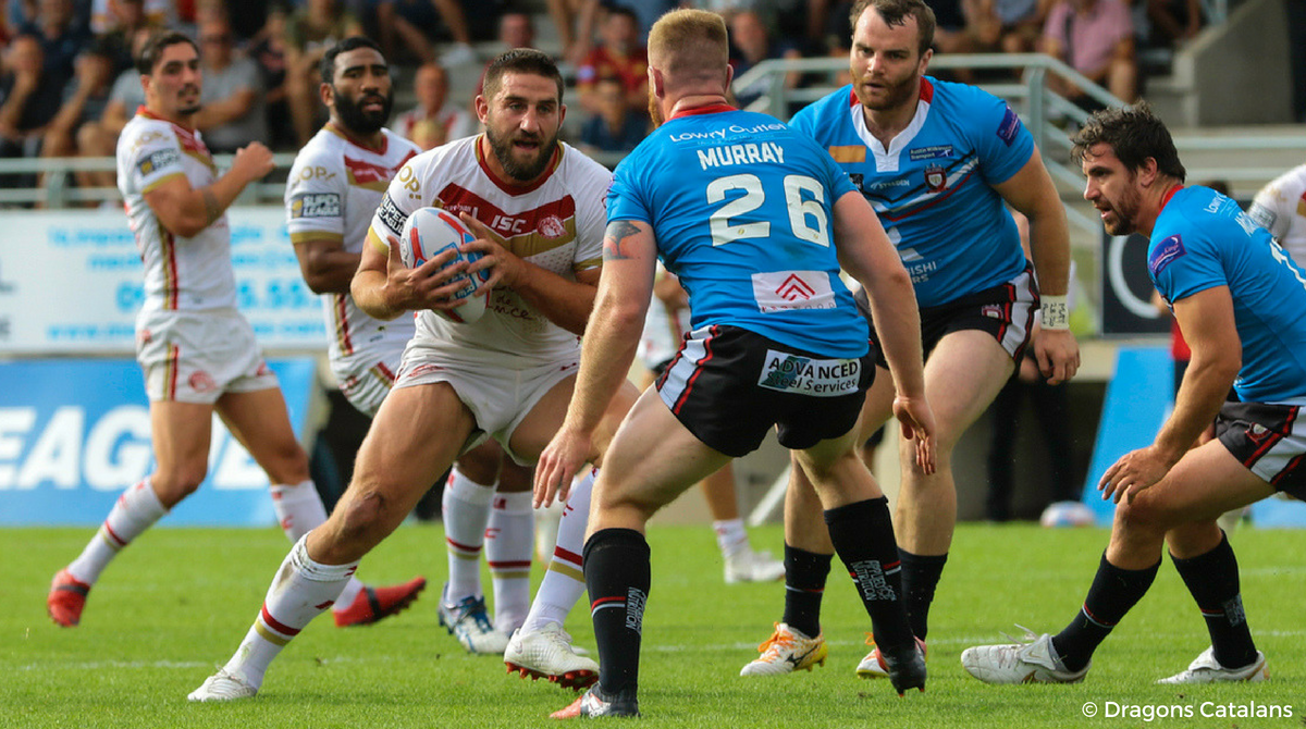 Julian Bousquet Dragons Catalans vs Salford