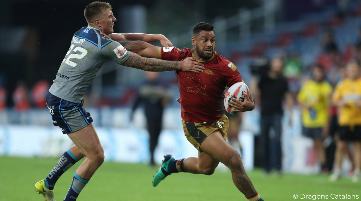 Kenny Edwards Dragons Catalans plaît en Angleterre