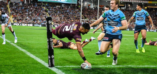 Maroons State Of Origin