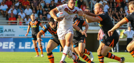 Tony Gigot Dragons Catalans Castleford Tigers