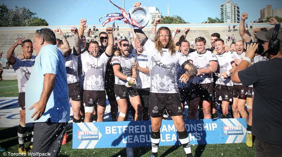 Toronto Wolfpack remporte le Championship