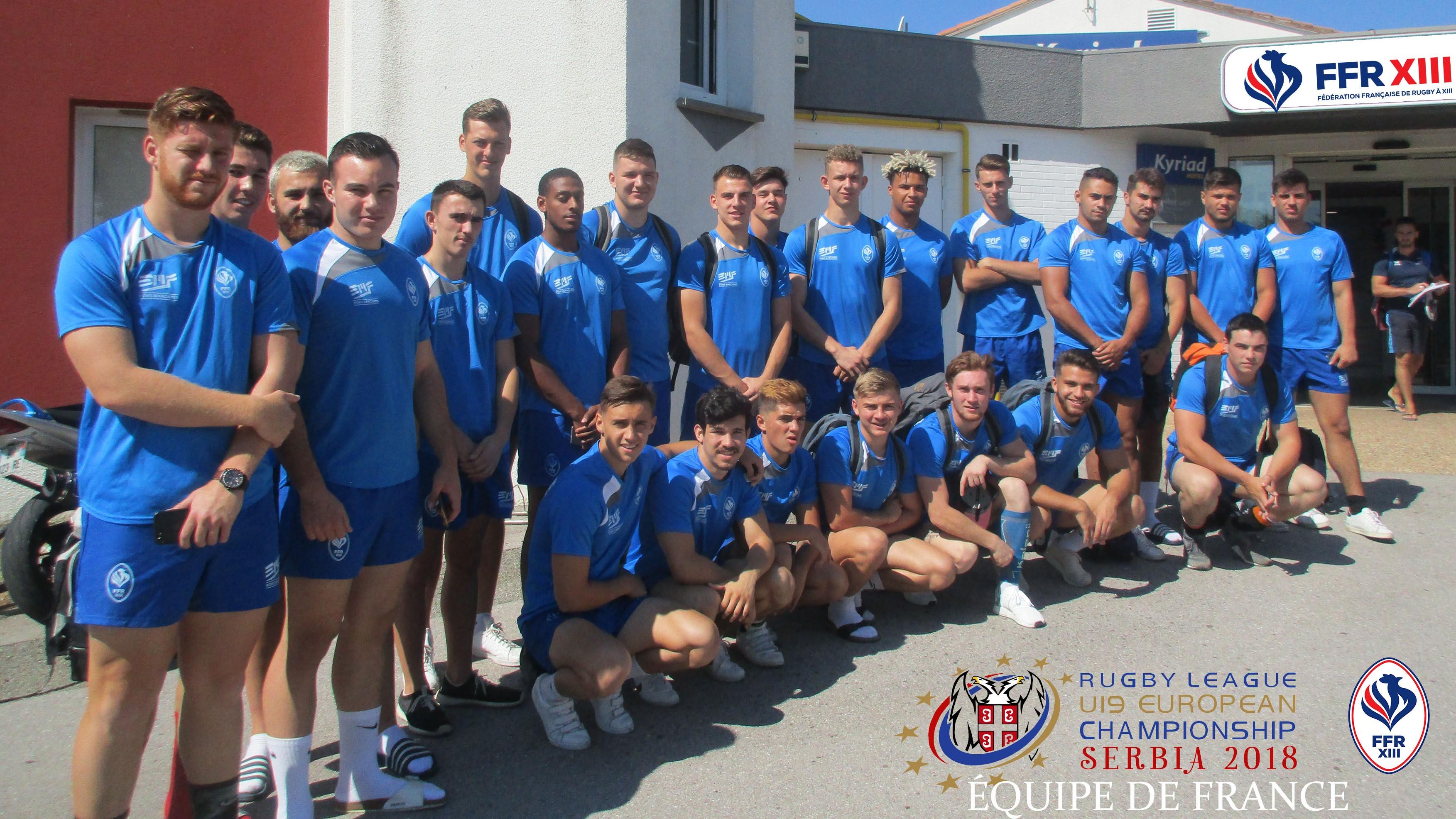 U19 Equipe de France Serbie 2018