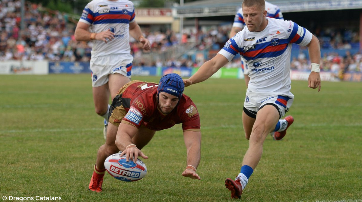 Wakefield Trinity vs Dragons Catalans 20ème journée