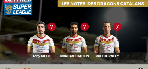 Wigan Warriors - Dragons Catalans (25-20) les notes des Catalans