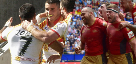Challenge Cup 2007 vs 2018 Dragons Catalans