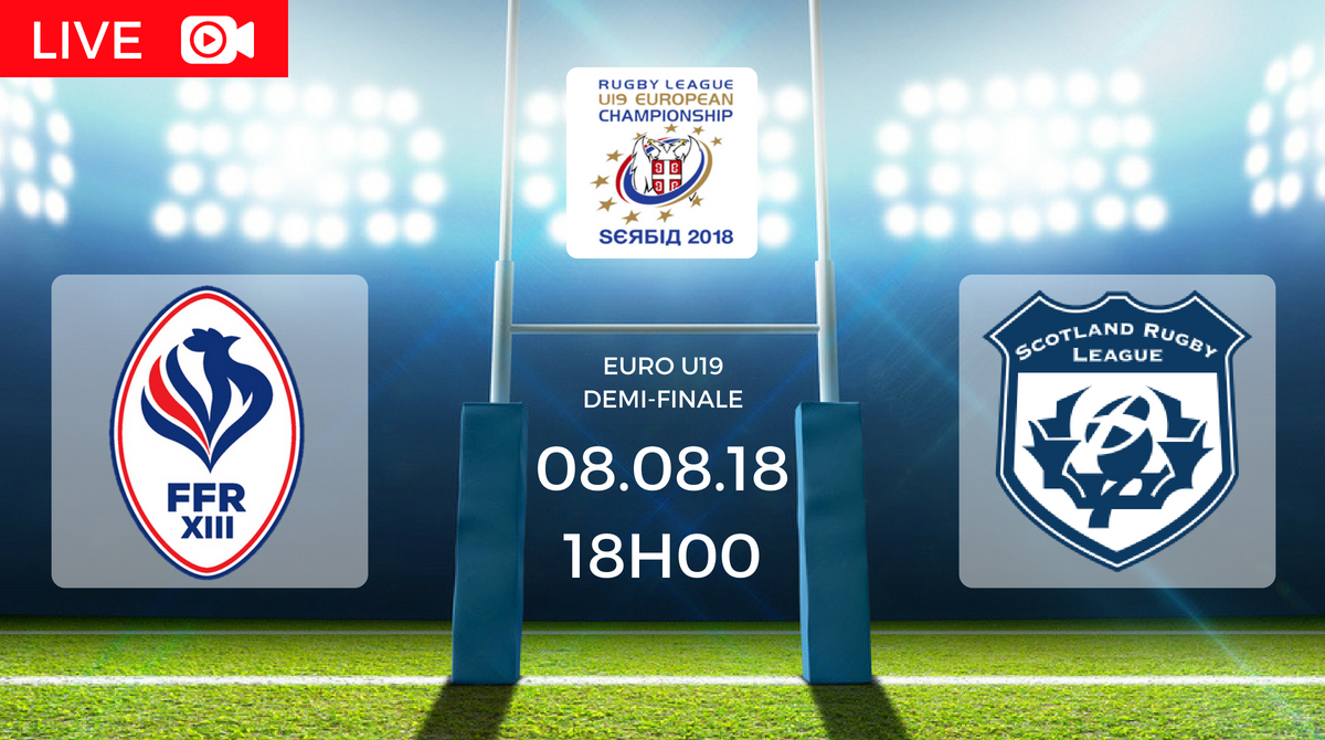Coupe d'Europe U19 France vs Ecosse en direct