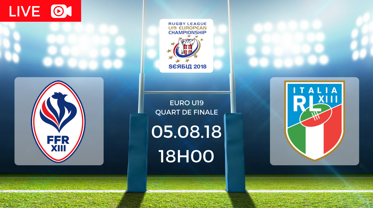 Coupe d 39 europe u19 france vs italie en direct treize mondial - Coupe de france resultat direct ...
