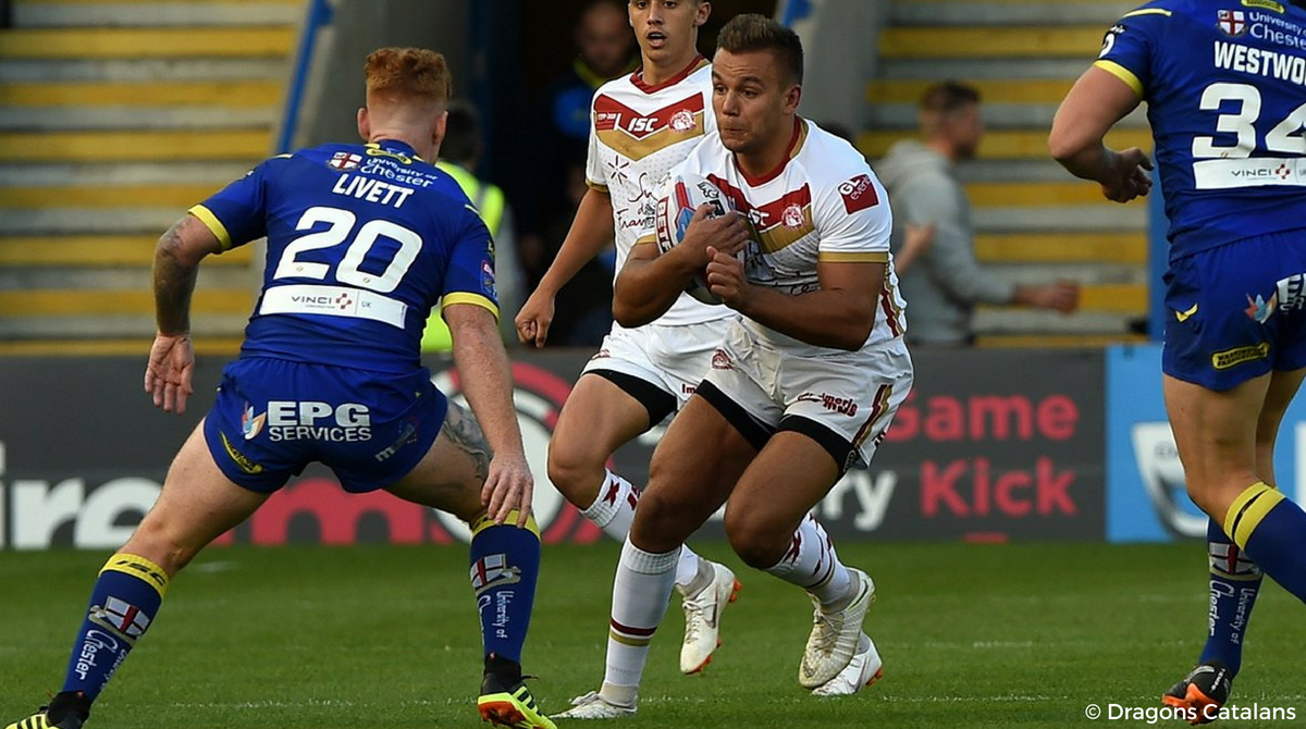 Dragons Catalans Warrington Wolves Mickael Goudemand