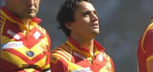 Kane Bentley Dragons Catalans Challenge Cup Wembley