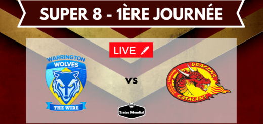 Warrington Wolves vs Dragons Catalans en direct commenté