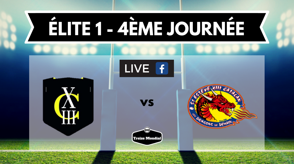 Elite 1 4eme Journee Carcassonne Xiii Vs Saint Esteve Xiii
