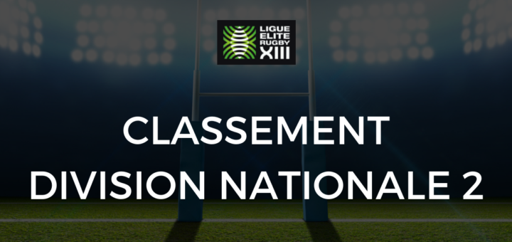 Calendrier National 2 Groupe A.Classement Division Nationale 2 2018 2019 Rugby A 13