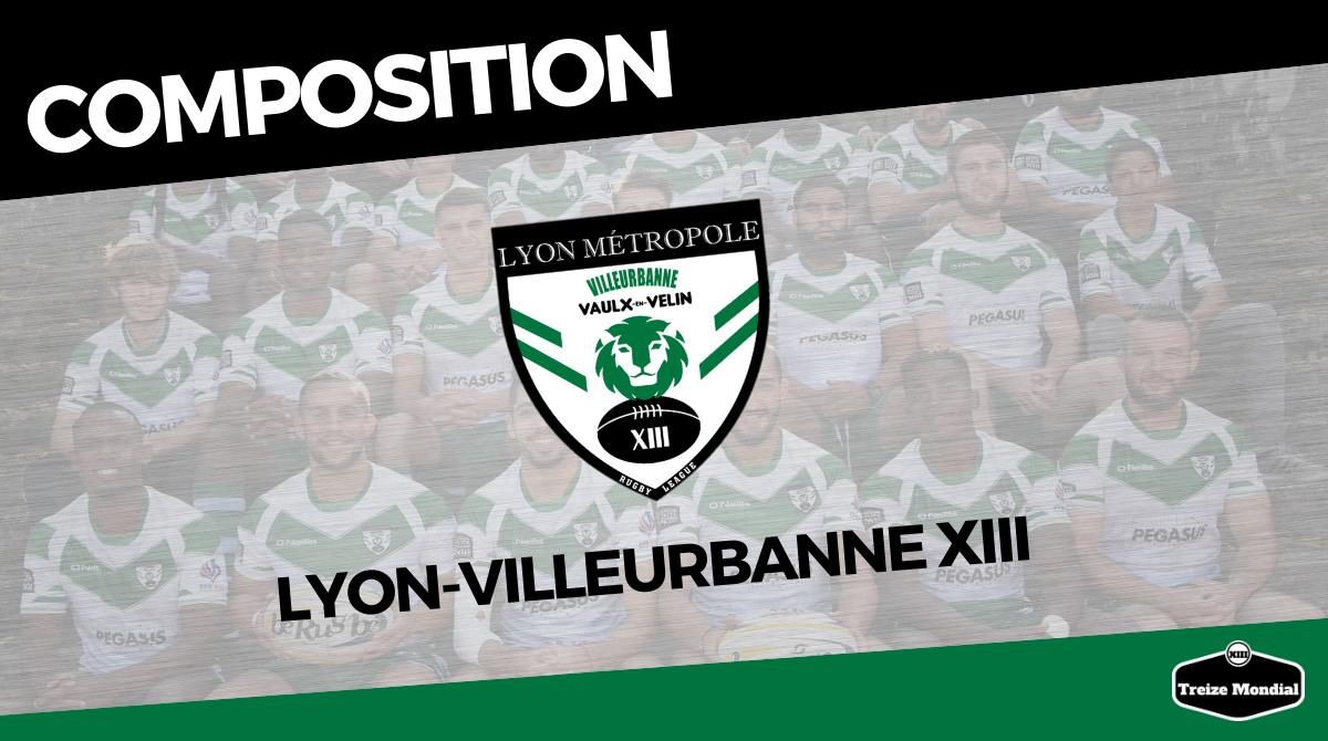 Elite 2 (2019-2020) : La composition de Lyon-Villeurbanne pour le déplacement à Villefranche - Treize Mondial