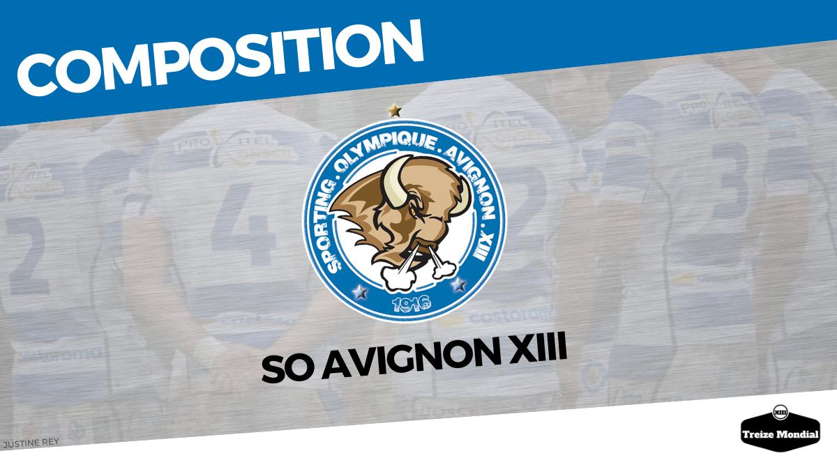Elite 1 (2019-2020) : La composition d'Avignon pour affronter Palau - Treize Mondial