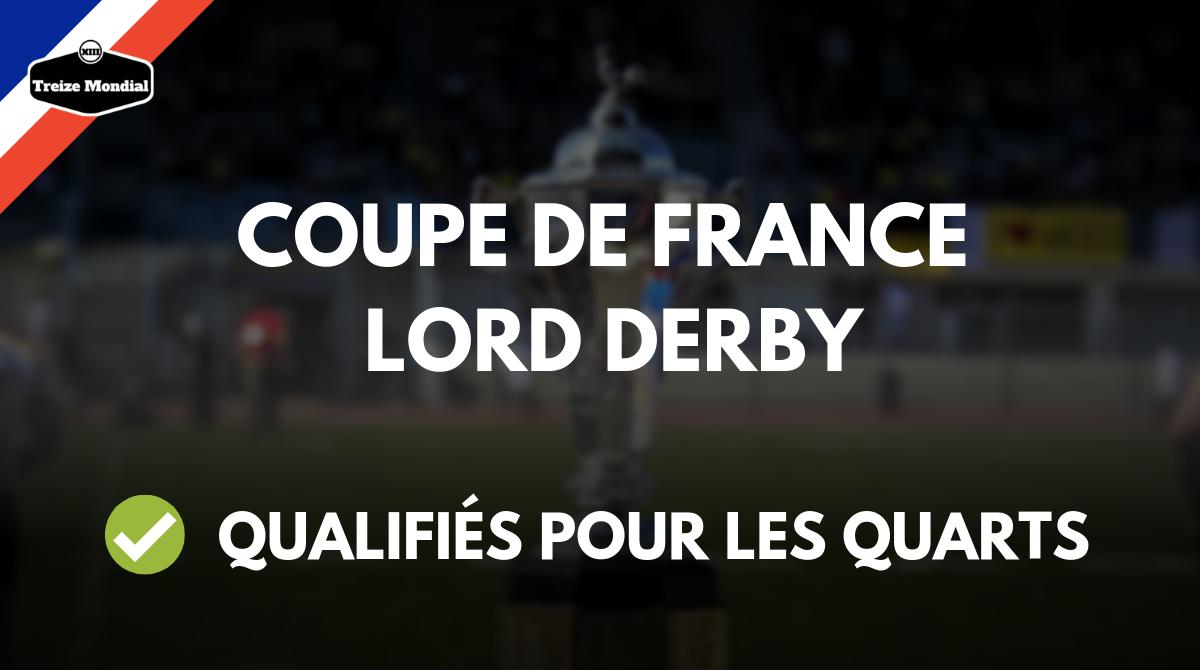 Coupe de france lord derby les qualifi s pour les quarts - Quarts de finale coupe de france ...