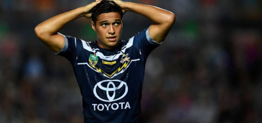Te Maire Martin North Queensland Cowboys rugby 13 xiii league nrl