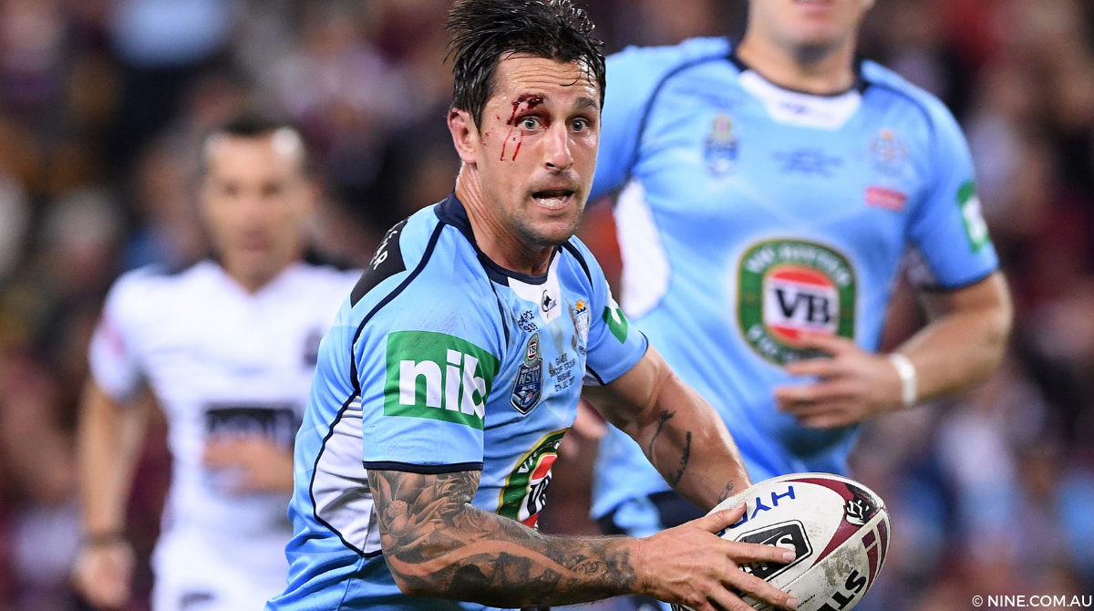 Mitchell Pearce Blues