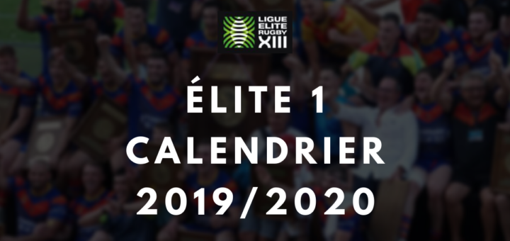 Calendrier 2020 Rugby.Calendrier Et Resultats Elite 1 2019 2020 Rugby A 13