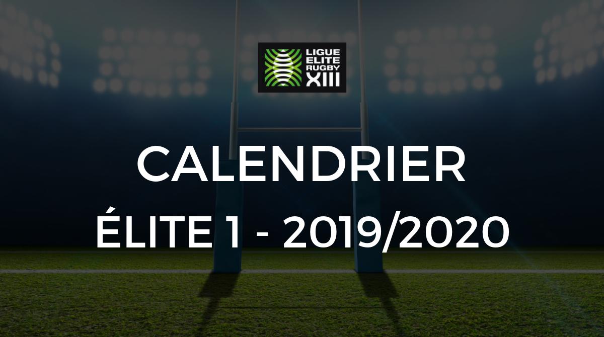 Montpellier Rugby Calendrier.Elite 1 Le Calendrier Elite 1 De La Saison 2019 2020 A Ete