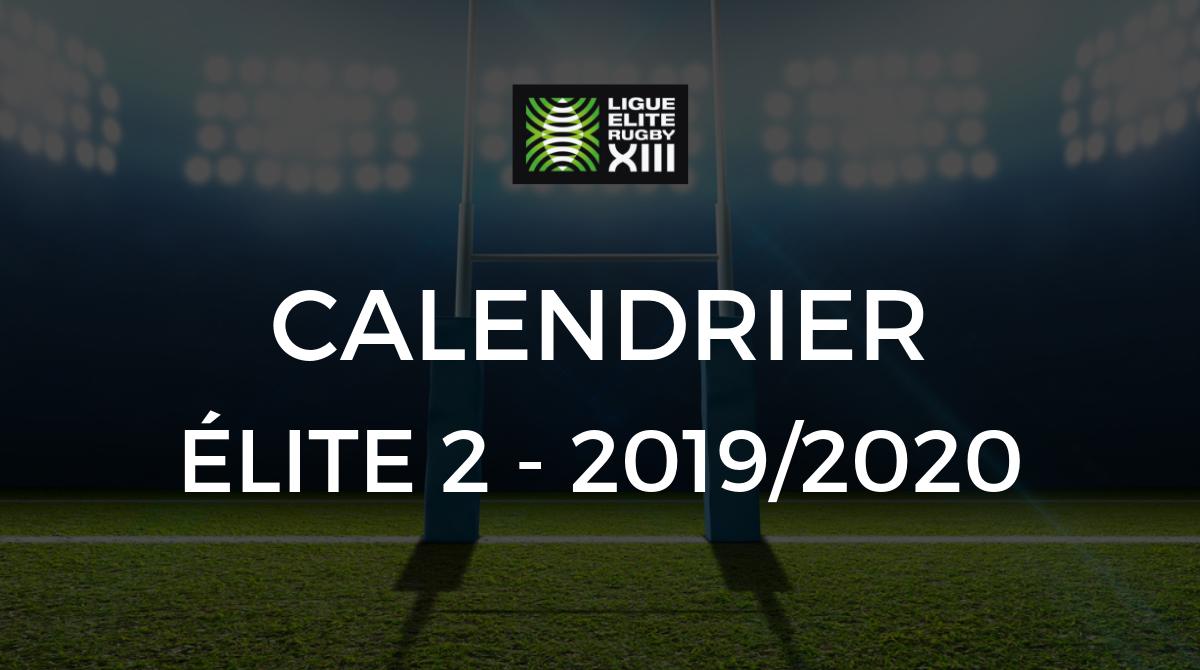 Calendrier Foot 2019 2020.Elite 2 Le Calendrier Elite 2 De La Saison 2019 2020 A Ete