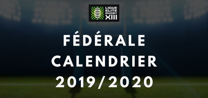 Calendrier Federale 2 2020 2019.Calendrier Et Resultats Federale 2019 2020 Rugby A 13
